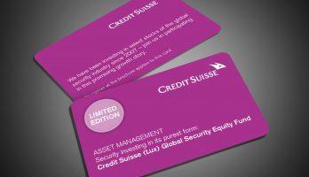 Eine Abbildung der Credit Suisse Limited Edition